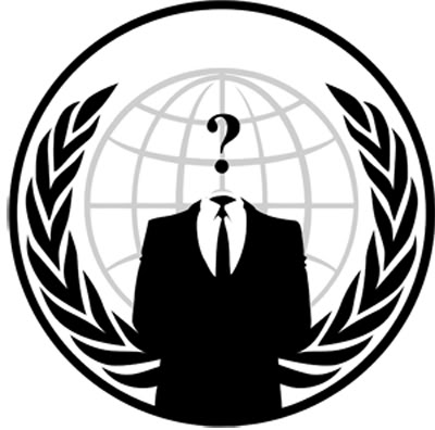 la farsa de anonymous