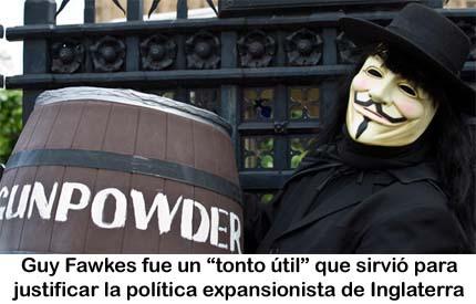 V DE VENDETTA Fawkes