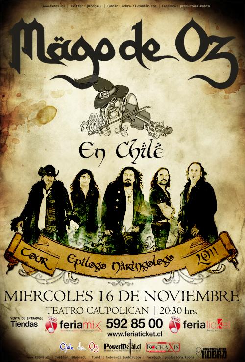 MAGO DE OZ 07-11-2011 (CHILE) 7-11-11
