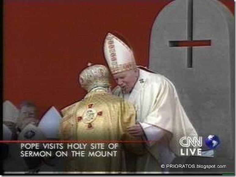 Resultado de imagem para pope upside down cross