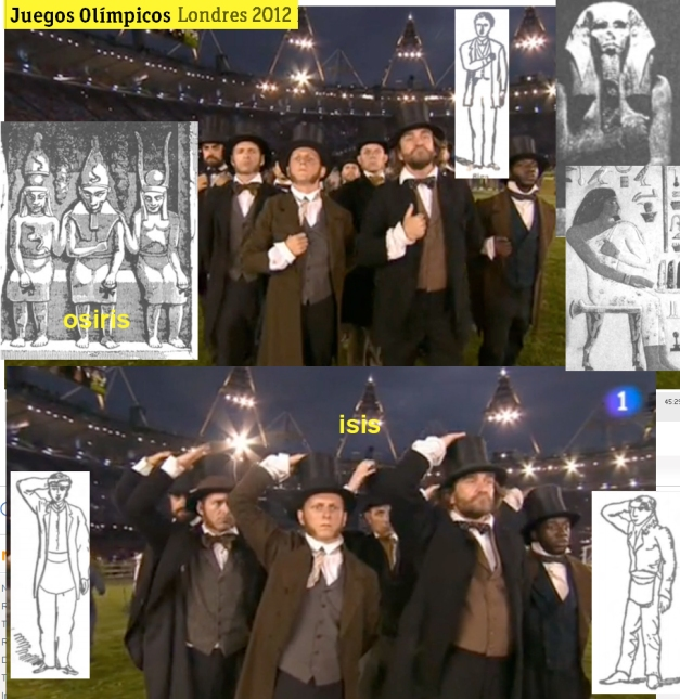 SIMBOLOGÍA HORUS E ISIS OLIMPIADAS 2012