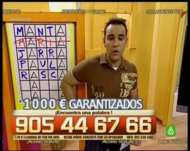 """LA FARSA DE LOS """"CALL-TV"""" Y LA PUBLICIDAD ESTAFADORA Y OBLIGATORIA EN WORDPRESS GRATUITO Roland-sanden"""