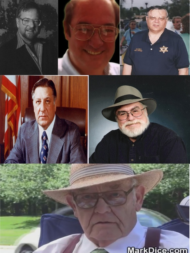 DAVID ROCKEFELLER JR - WILLIAM COOPER - JOE ARPAIO- FRANK RIZZO - JIM MARSS - JIM TUCKER