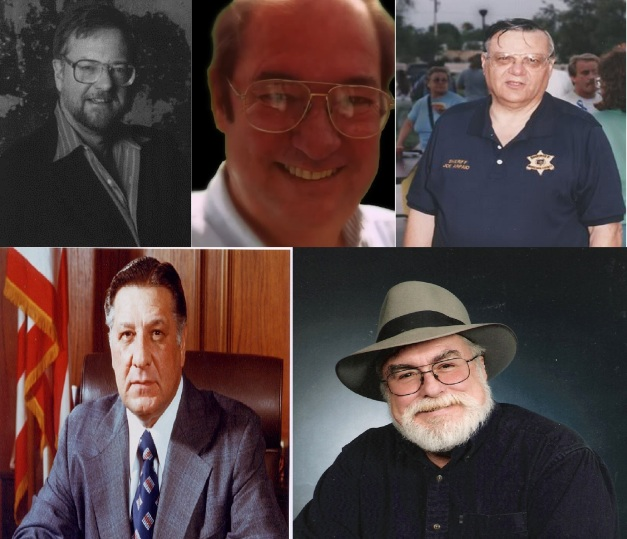 DAVID ROCKEFELLER JR - WILLIAM COOPER - JOE ARPAIO- FRANK RIZZO - JIM MARRS