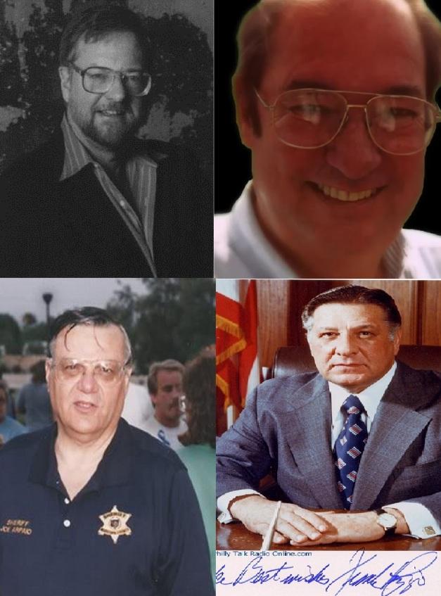 DAVID ROCKEFELLER JR - WILLIAM COOPER- JOE ARPAIO Y FRANK RIZZO
