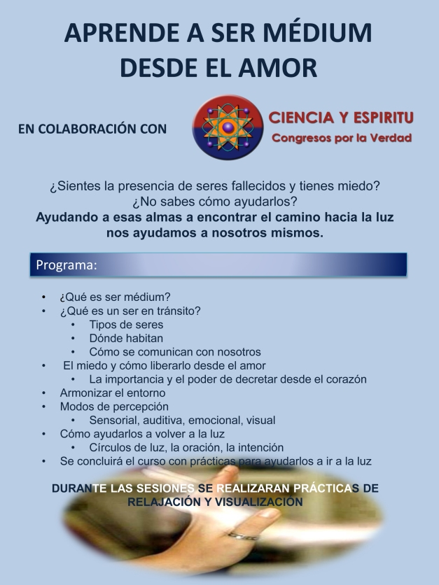 CIENCIA Y ESPÍRITU (MEDIUMS)