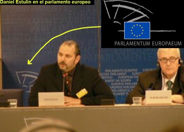 DANIEL ESTULIN PARLAMENTO EUROPEO