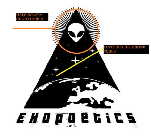 EXOPOETICS PIRÁMIDE Y ADORACIÓN SOL - HORUS 02