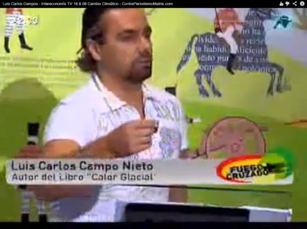LUIS CARLOS CAMPOS (INTERECONOMÍA) - AGENTE DOBLE