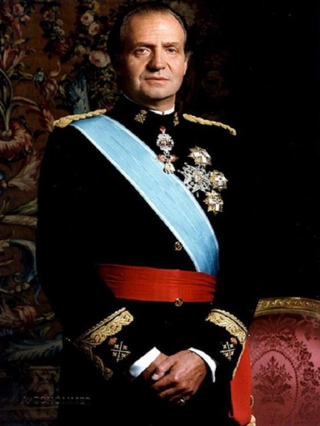 REY JUAN CARLOS CABALLERO DE MALTA