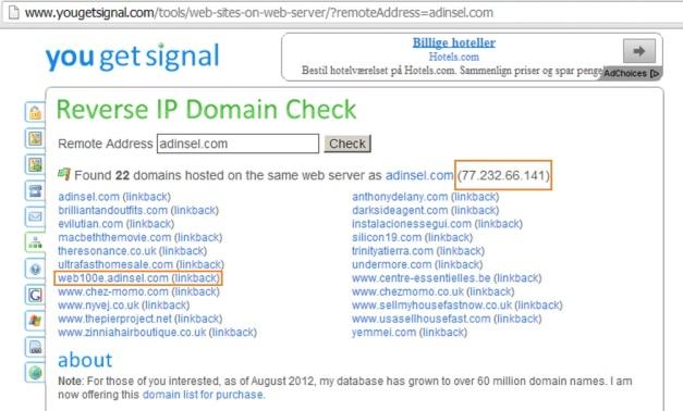 WEBS ADINSEL WEB100e
