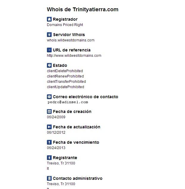 WHO IS TRINITY A TIERRA
