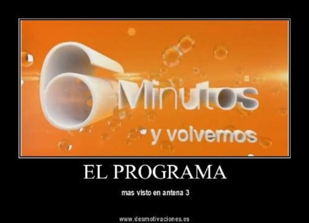 6 MINUTOS PROGRAMA