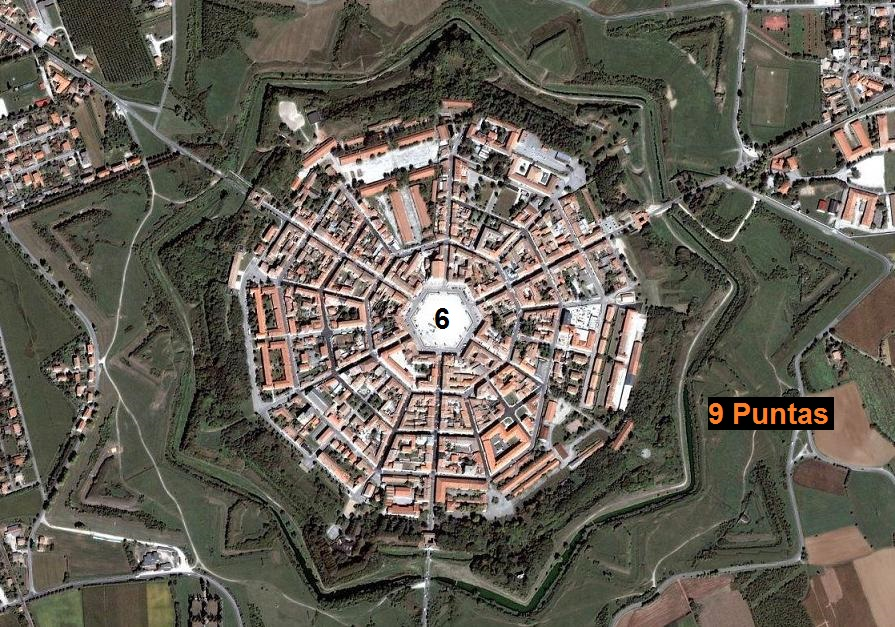 CIUDAD ESTRELLA 9 PUNTAS PALMANOVA (ITALIA) 01