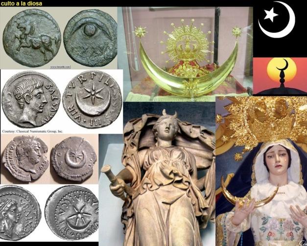 CULTO A YESOD-LUNA-MARIA-SEMIRAMIS-ISIS