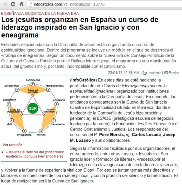 CURSO ENEAGRAMA JESUITAS