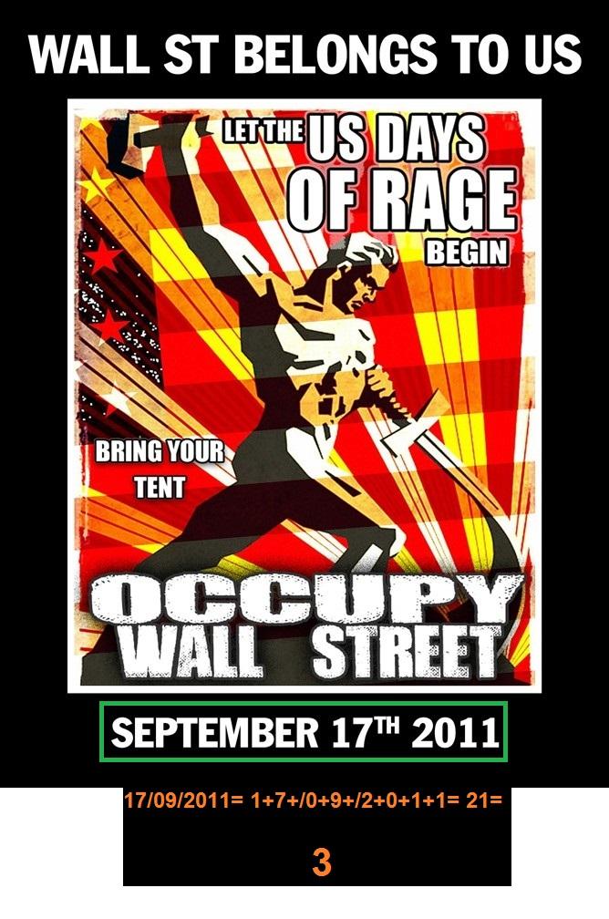 OCUPPY WALLSTREET 17-09-2011