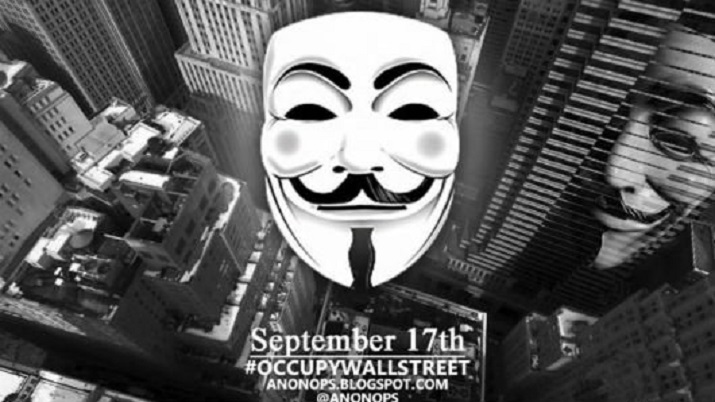 OCUPPY WALLSTREET (ANONYMOUS) 17-09-2011
