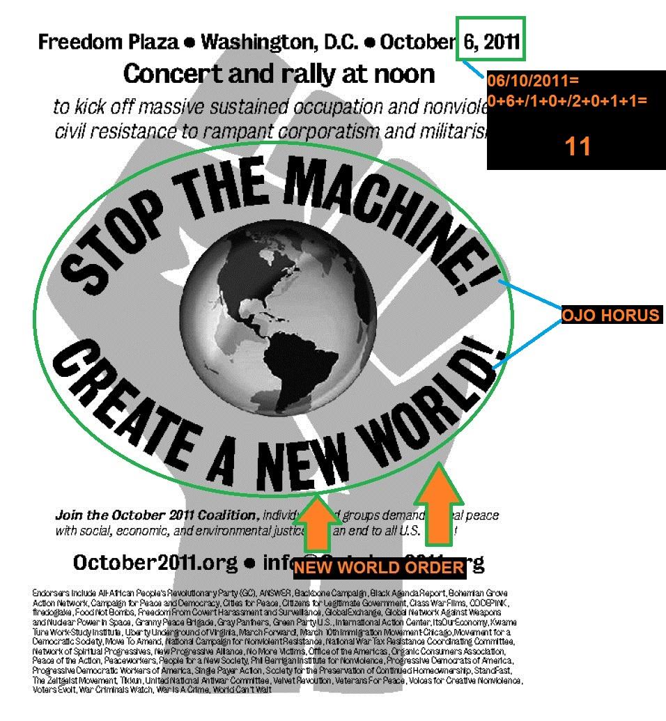 OCUPPY WASHINGTON NEW WORLD ORDER, 11 (01)