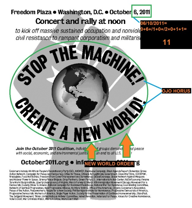 OCUPPY WASHINGTON NEW WORLD ORDER, 11 (01)