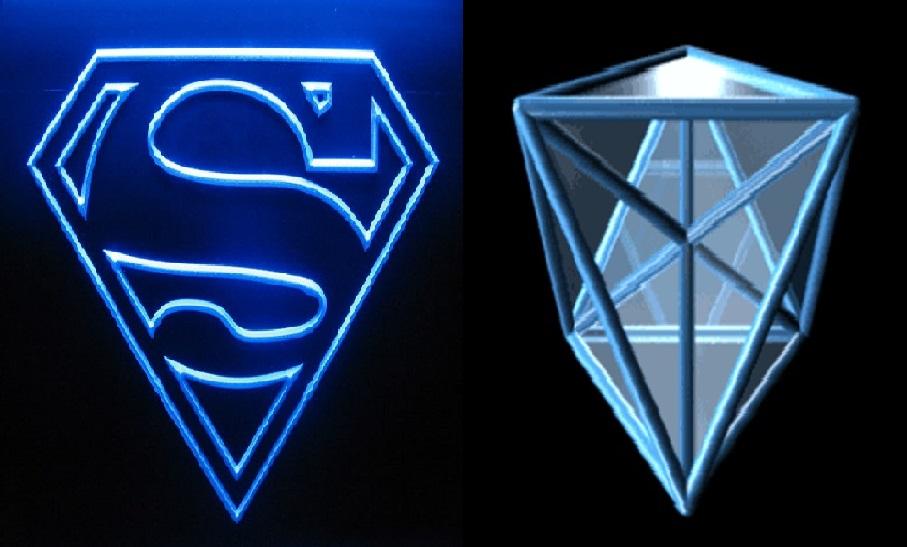 SUPERMAN=HEXADECACORON (01)