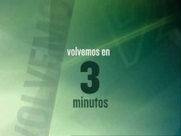 VOLVEMOS EN 3 MINUTOS
