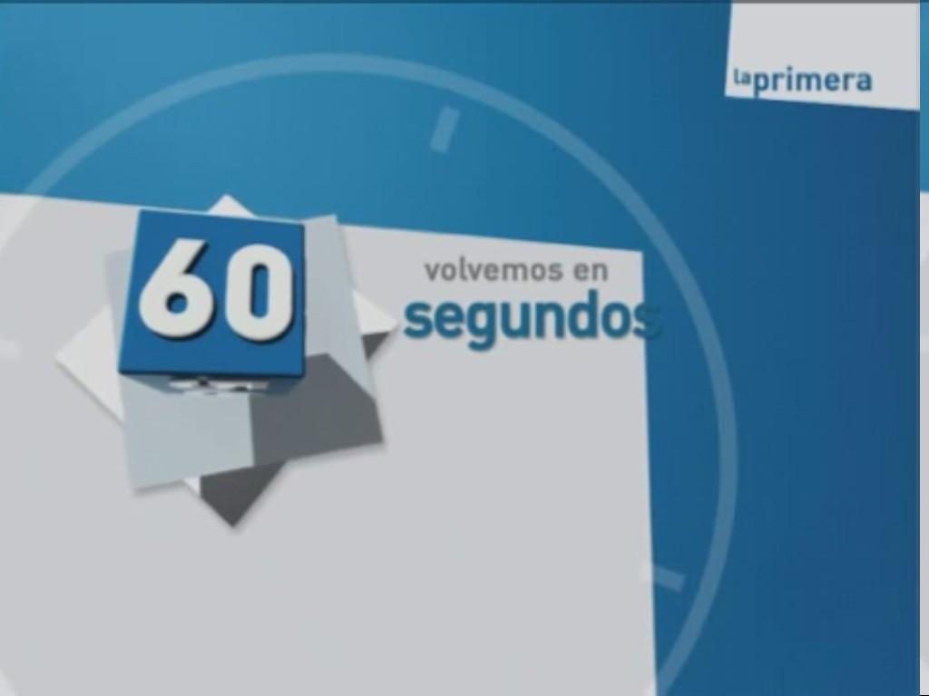 VOLVEMOS EN 60 SEGUNDOS