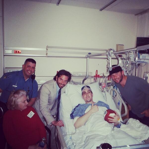 JEFF BAUMAN EN EL HOSPITAL