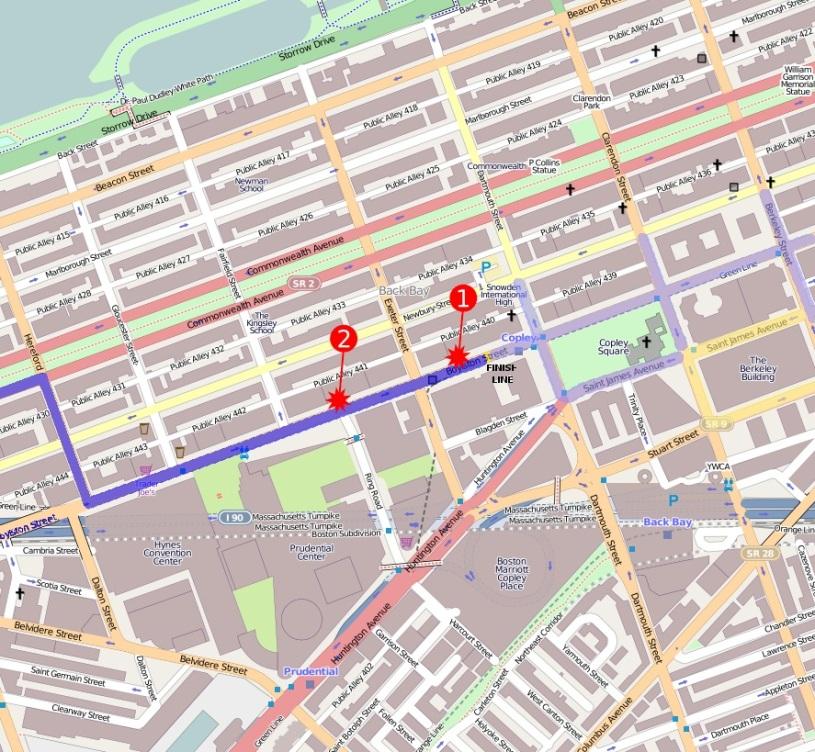 MAPA EXPLOSIONES BOSTON