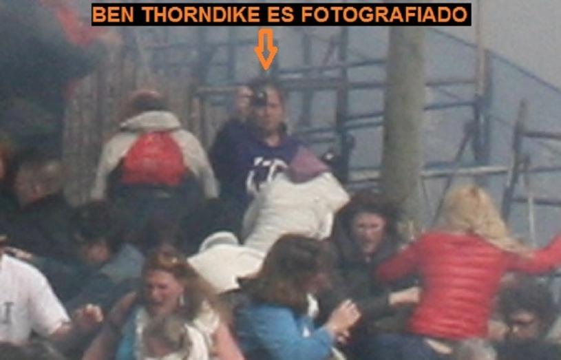 BEN THORNDIKE ES FOTOGRAFIADO