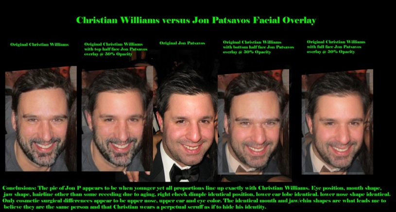CHRISTIAN WILLIAM VS JON PATSAVOS
