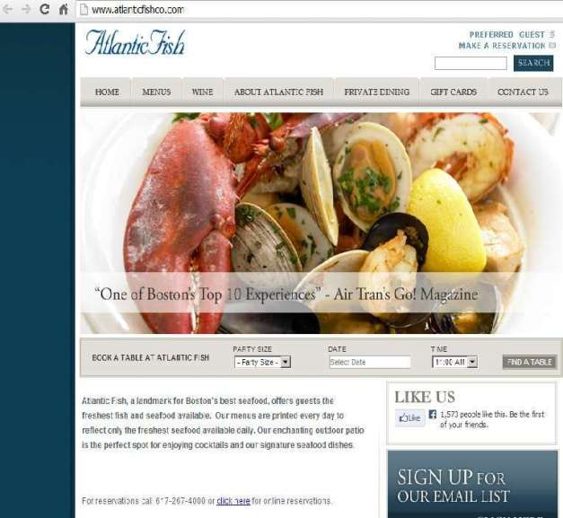 THE ATLANTIC FISH COMPANY WEB (FILEminimizer)