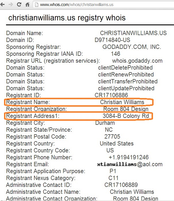 WHO IS CHRISTIAN WILLIAMS - copia