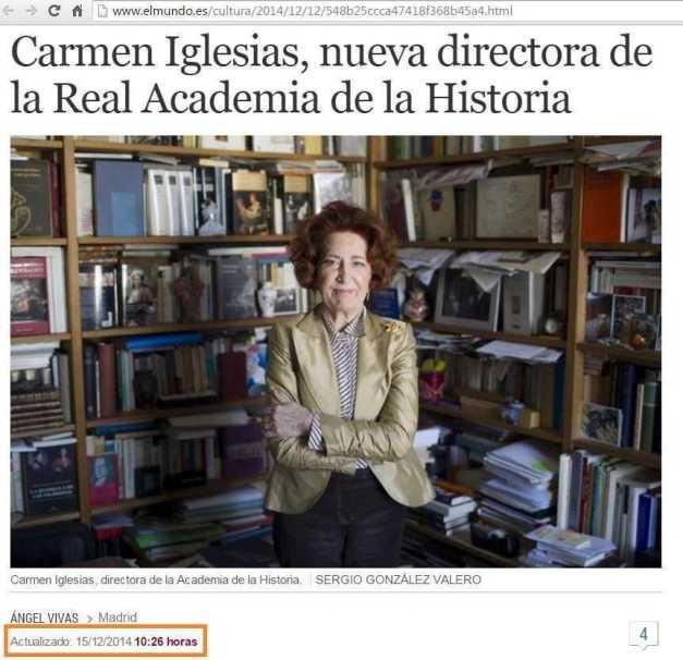 MARÍA DEL CARMEN IGLESIAS CANO DIRECTORA ACADEMIA HISTORIA (00) (FILEminimizer)