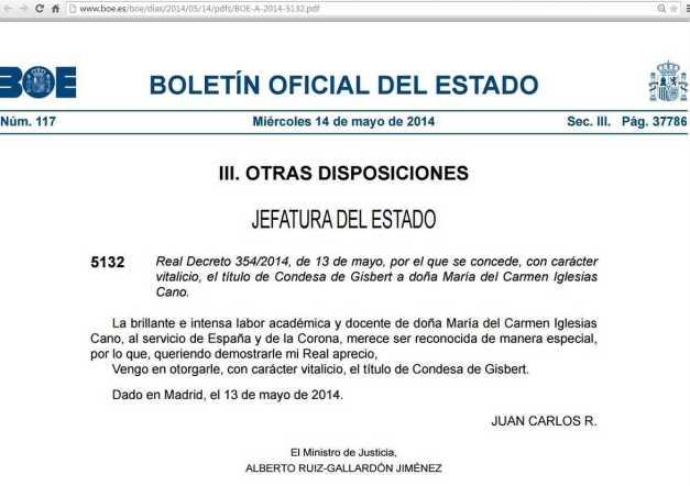 MARÍA DEL CARMEN IGLESIAS CANO TITULO CONDESA BOE (00) (FILEminimizer)
