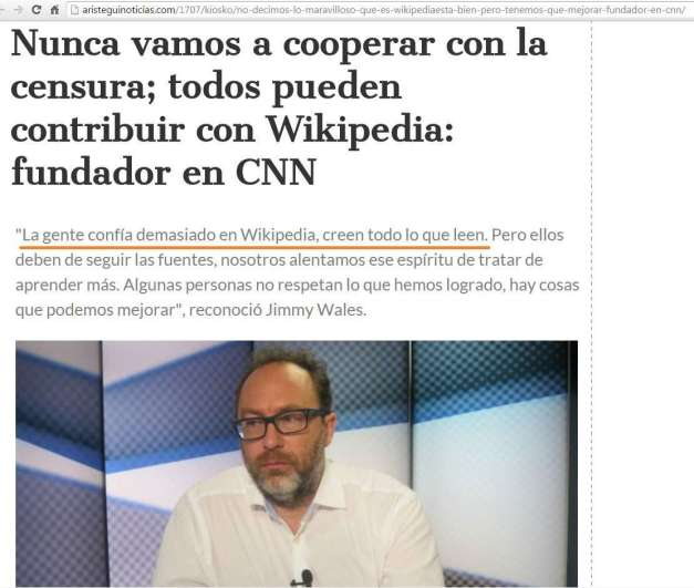 JYMMY WALES (FUNDADOR WIKIPEDIA) EN CNN (00) (FILEminimizer)