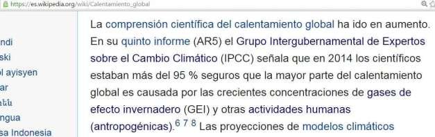 Wikipedia (Geoingeniería, Calentamiento Global y Cambio Climático ...