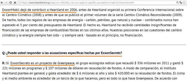 INSTITUTO HEARTLAND FINANCIADO POR EXXON (00) (FILEminimizer)